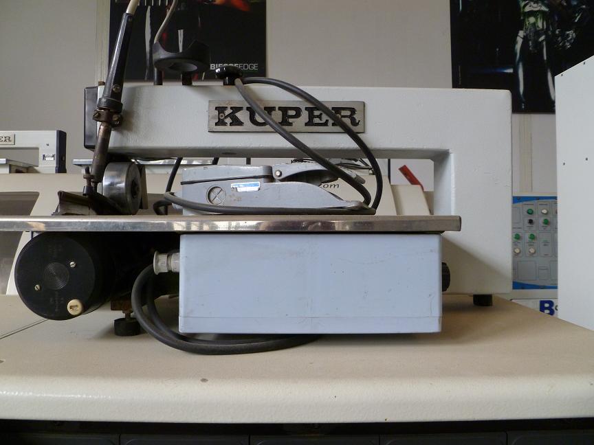 Juntadora de chapa KUPER FW420