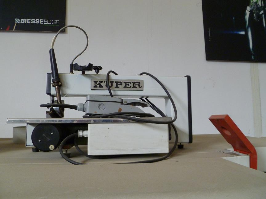 Juntadora de xapa KUPER FW420