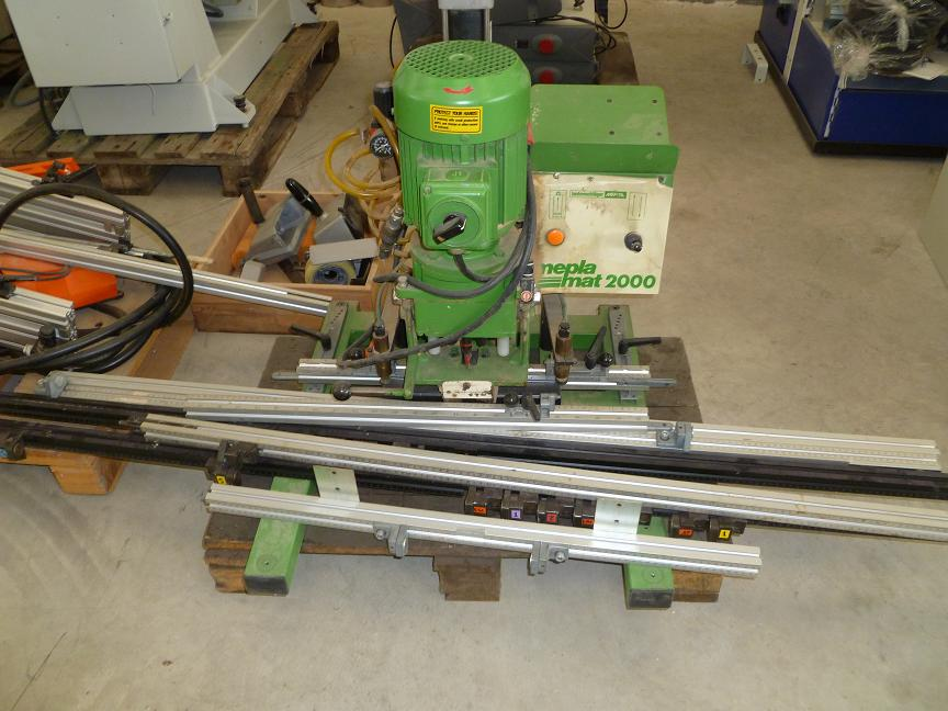 Hinge inserting machine MEPLAMAT
