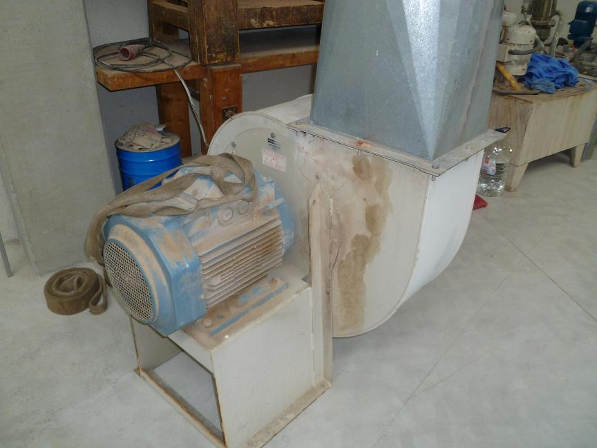 Suction turbine 15HP