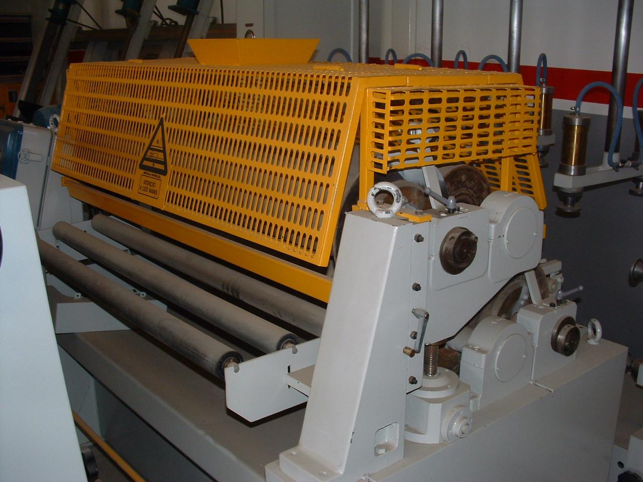 Roller gluer machine BREMA